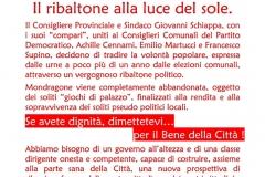 Ribaltone Schiappa Cennami