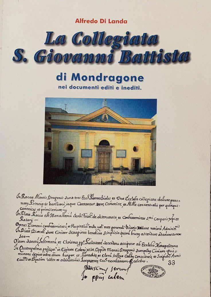 La collegiata San Giovanni Battista di Mondragone