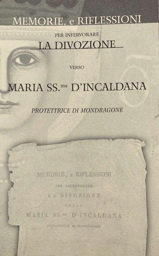 La Divozione a Maria SS Incaldana