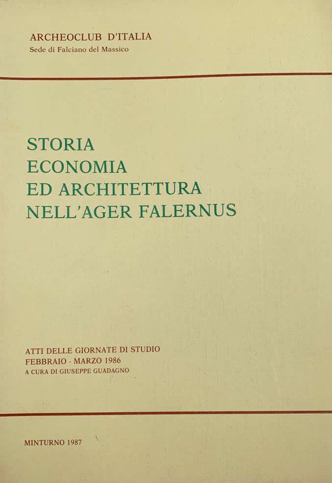 Copertina Libro storia-economia-architettura-ager-falernus