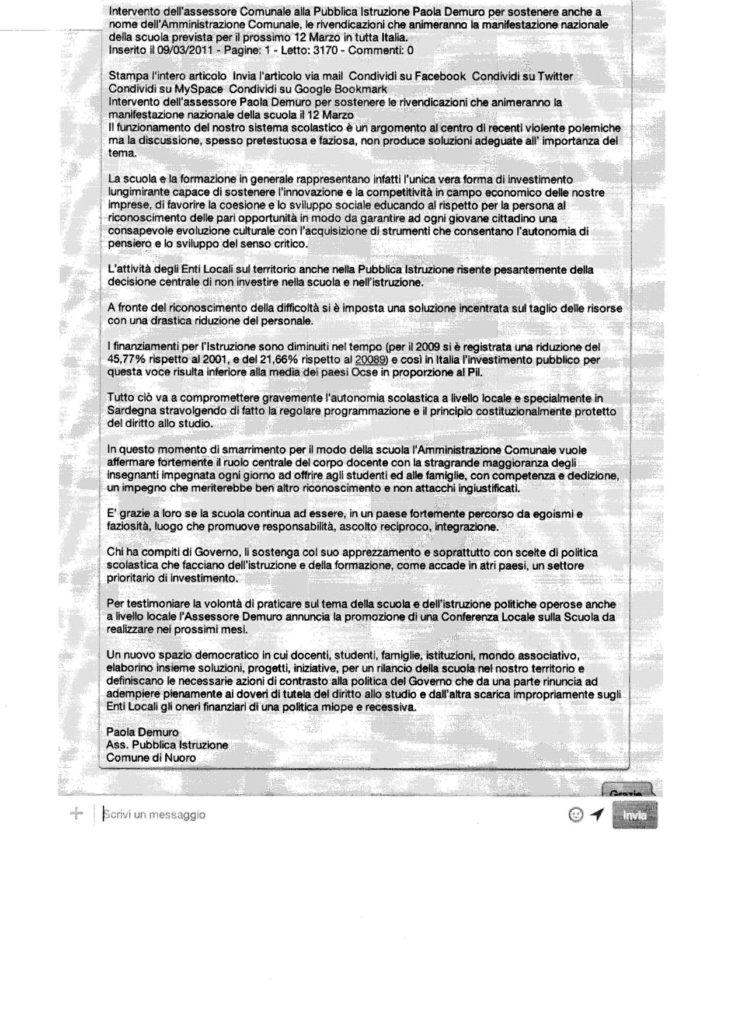 documento comune di nuoro