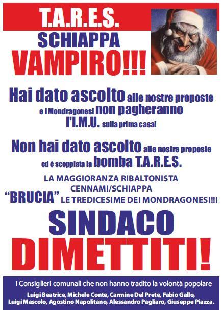 Volantino Schiappa Vampiro