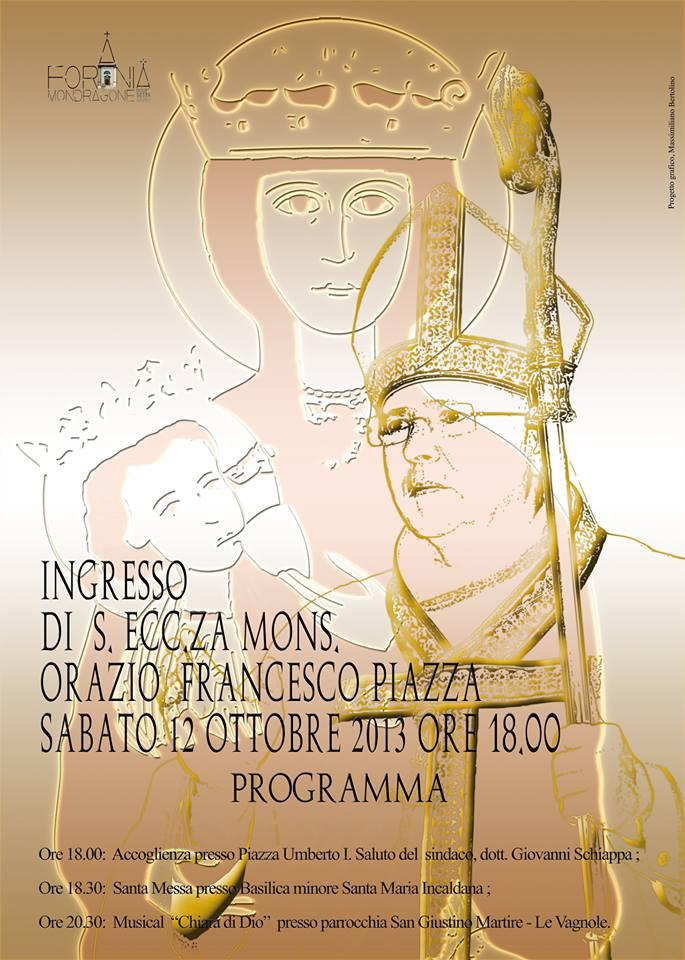 programma vescovo francesco piazza