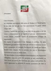 lettera berlusconi