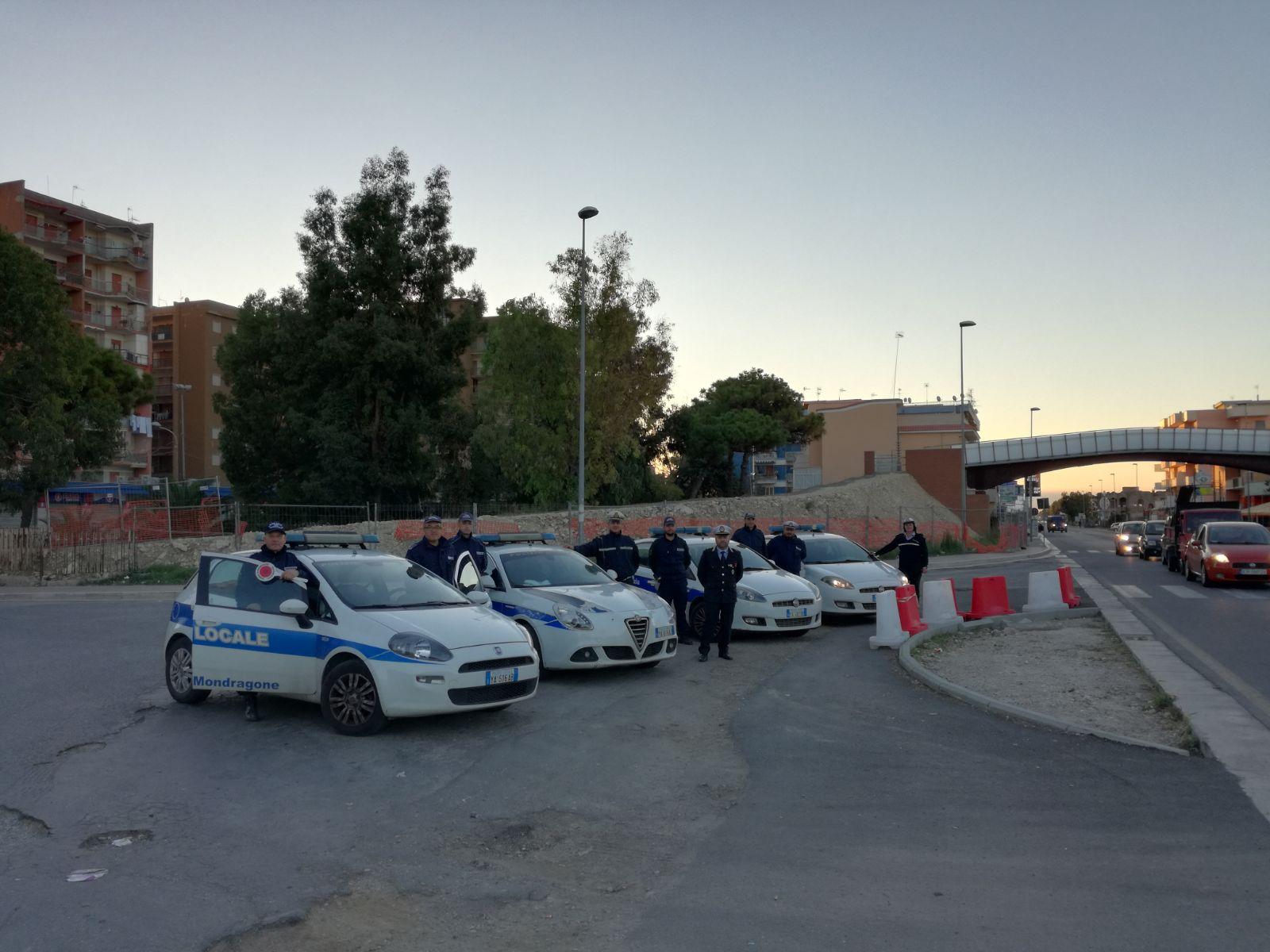 polizia municipale mondragone