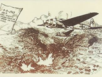 aerei tedeschi su mondragone