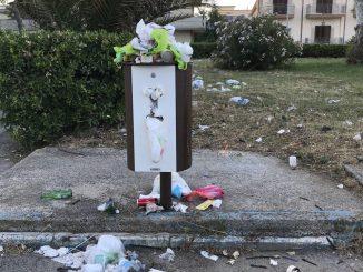 cestini rifiuti mondragone
